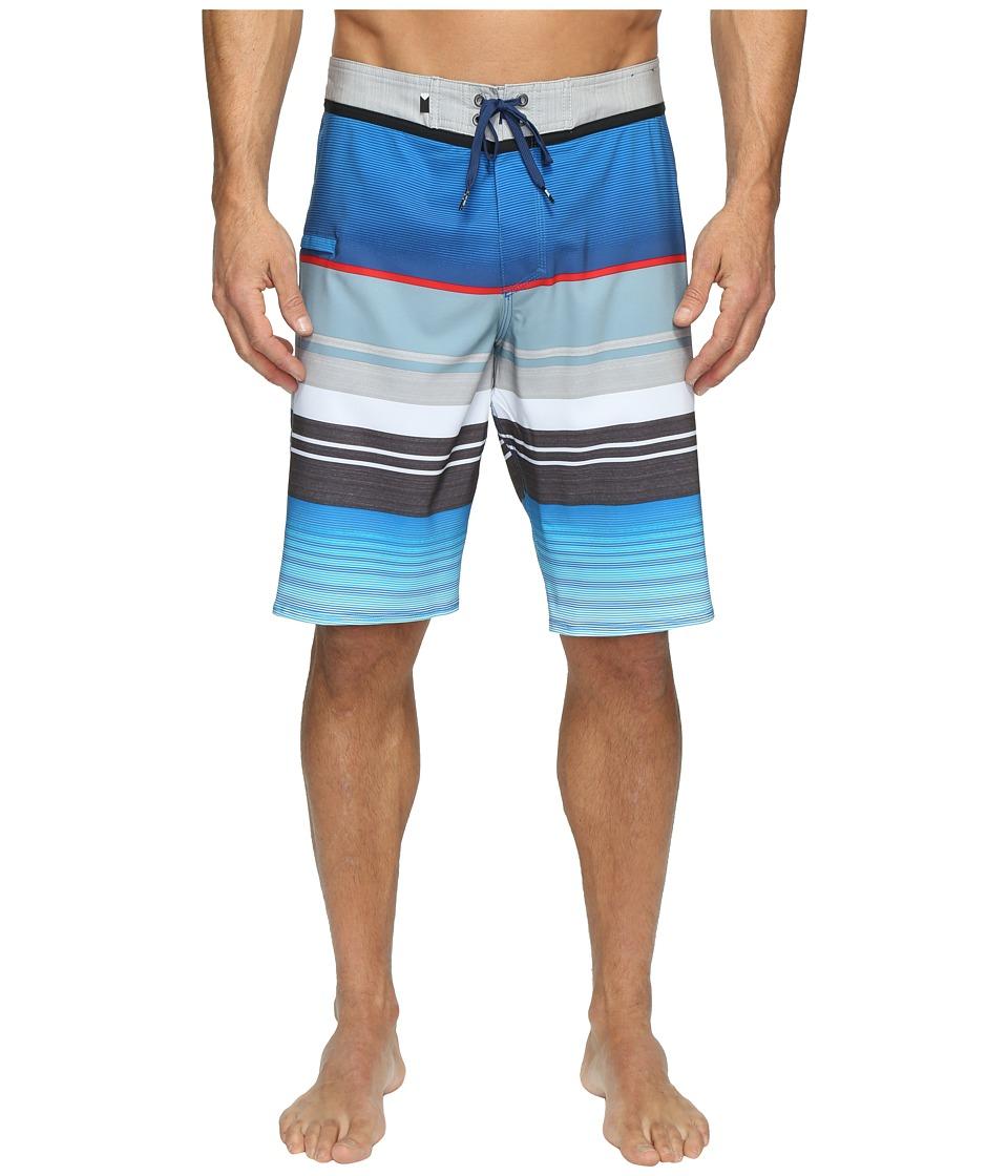Quiksilver Everyday Stripe Vee 21 Boardshorts (Wet Weather) Men