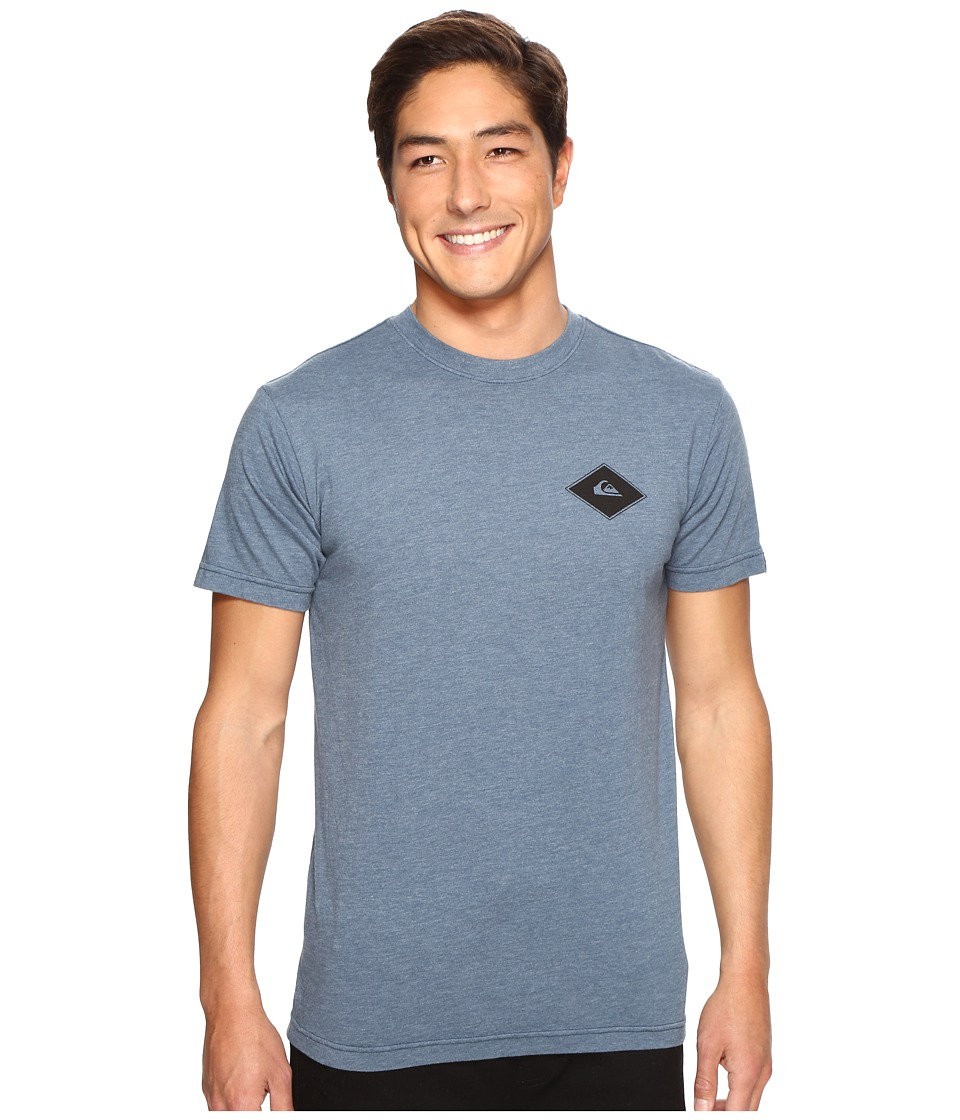 Quiksilver - Diamond Days Tee (Indian Teal Heather) Men's T Shirt