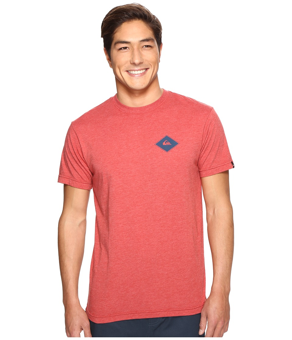Quiksilver - Diamond Days Tee (Cardinal Heather) Men's T Shirt