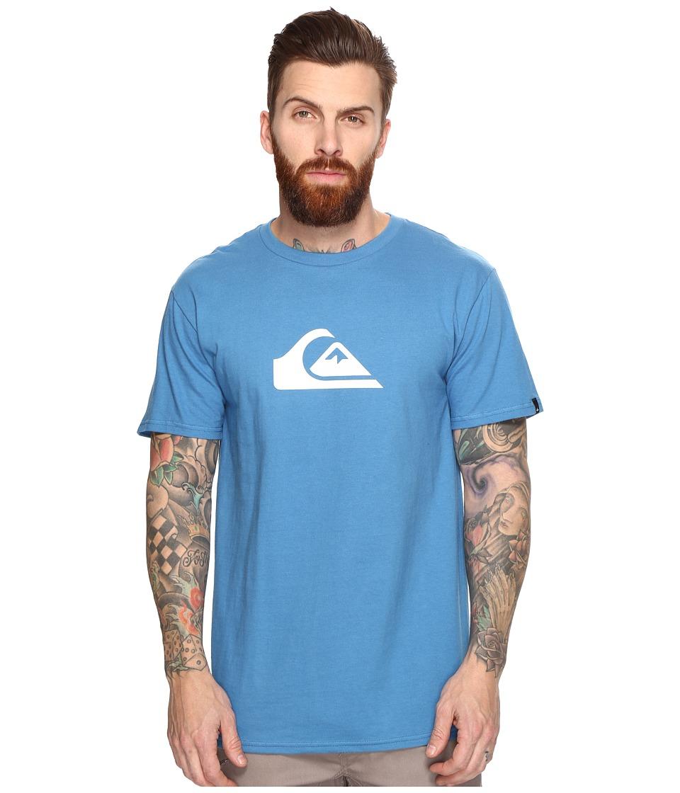 Quiksilver - Mountain Wave Logo Tee (Vallarta Blue) Men