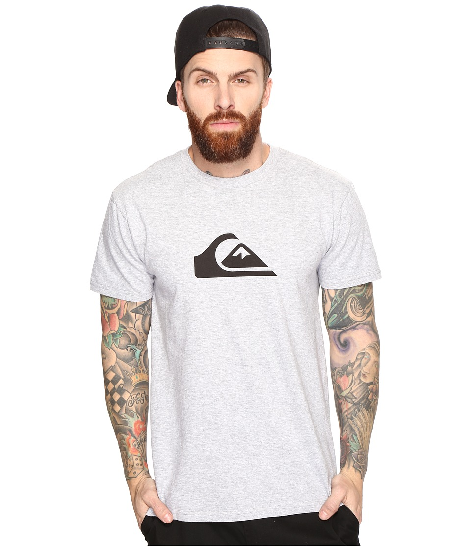Quiksilver - Mountain Wave Logo Tee (Athletic Heather) Men's T Shirt