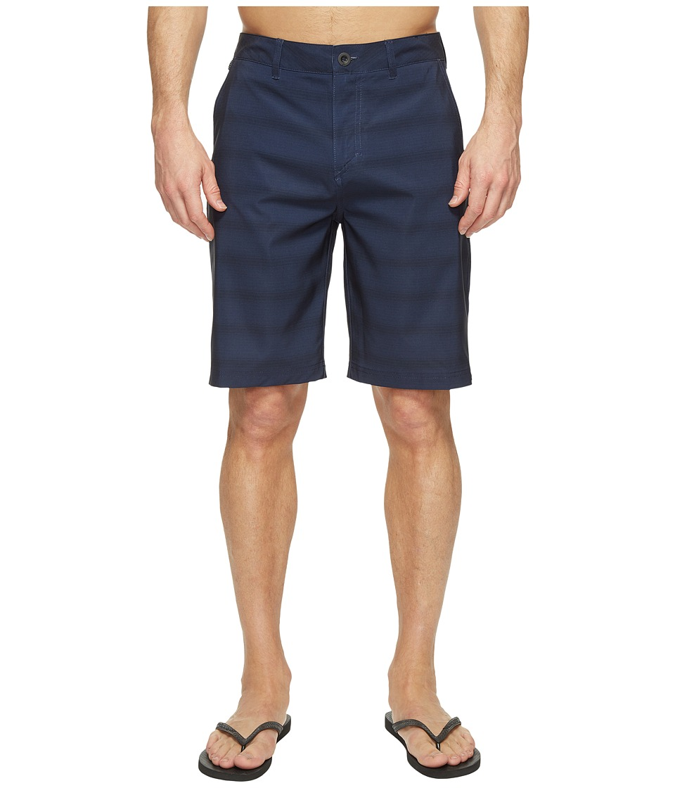Quiksilver - Lines Amphibian 21 Hybrid Shorts (Navy Blazer) Men's Swimwear