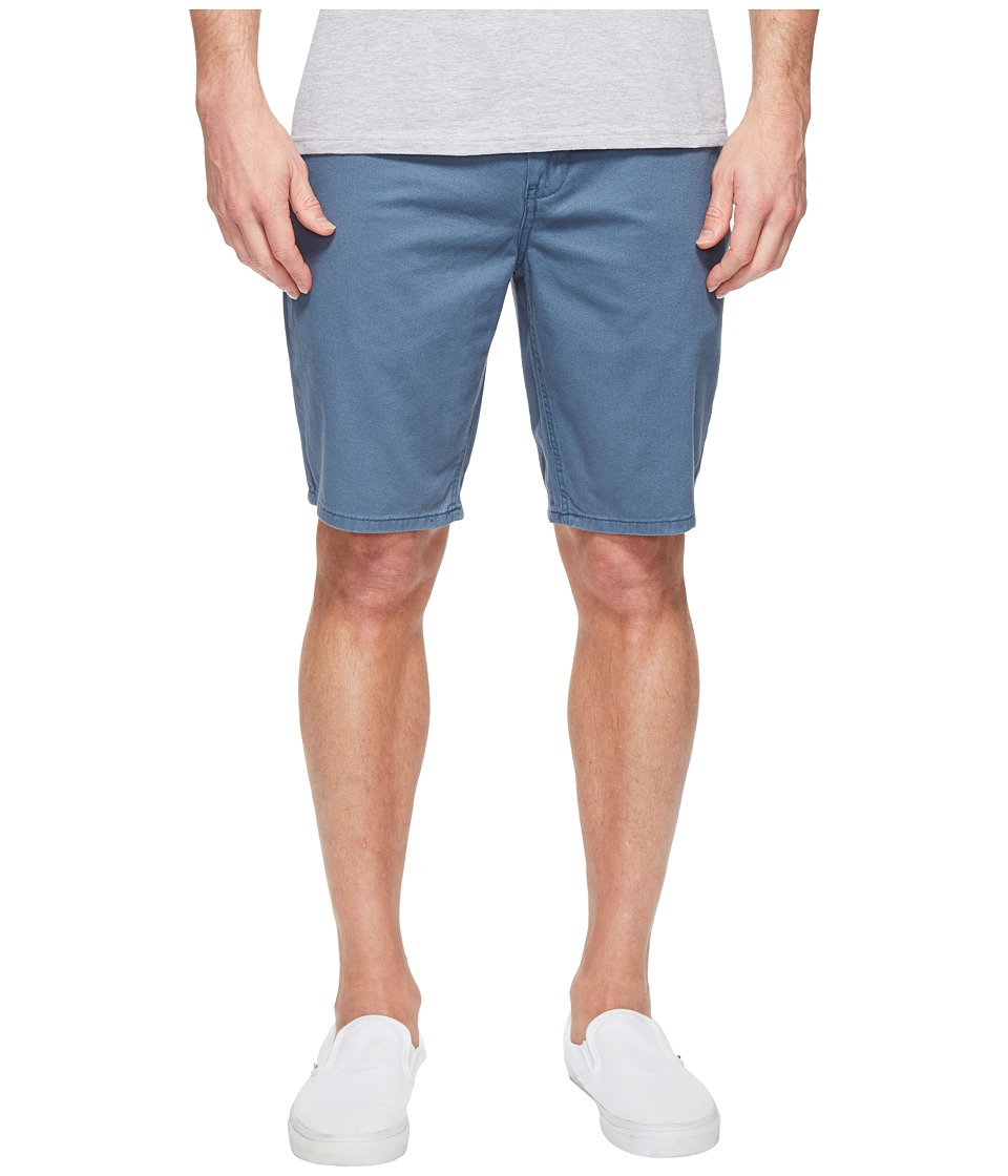 Quiksilver - Everyday Chino Shorts (Indian Teal) Men's Shorts