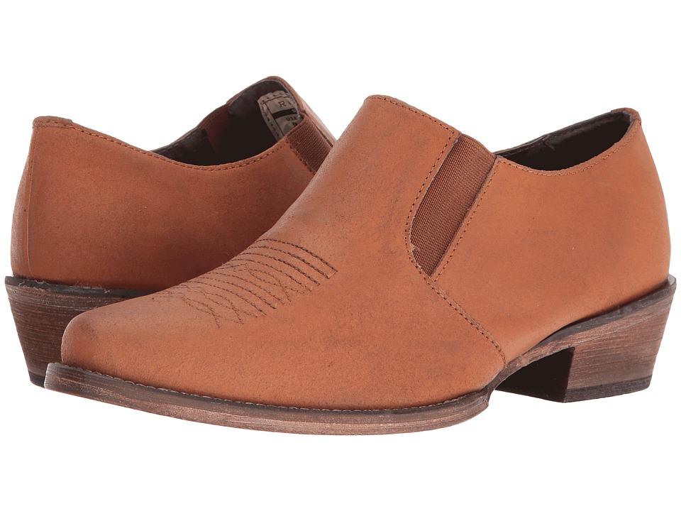 Roper - Shoe Boot (Amber Crazy Horse) Cowboy Boots