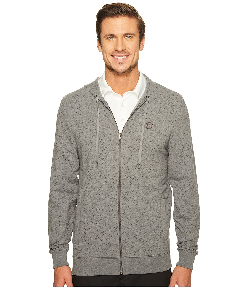 TravisMathew Jack Adam Outerwear (Heather Quiet Shade) Men