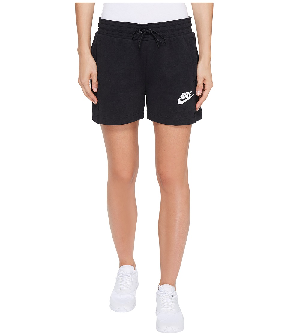 Nike - Sportswear Advance 15 Short (Black/White) Women's Shorts