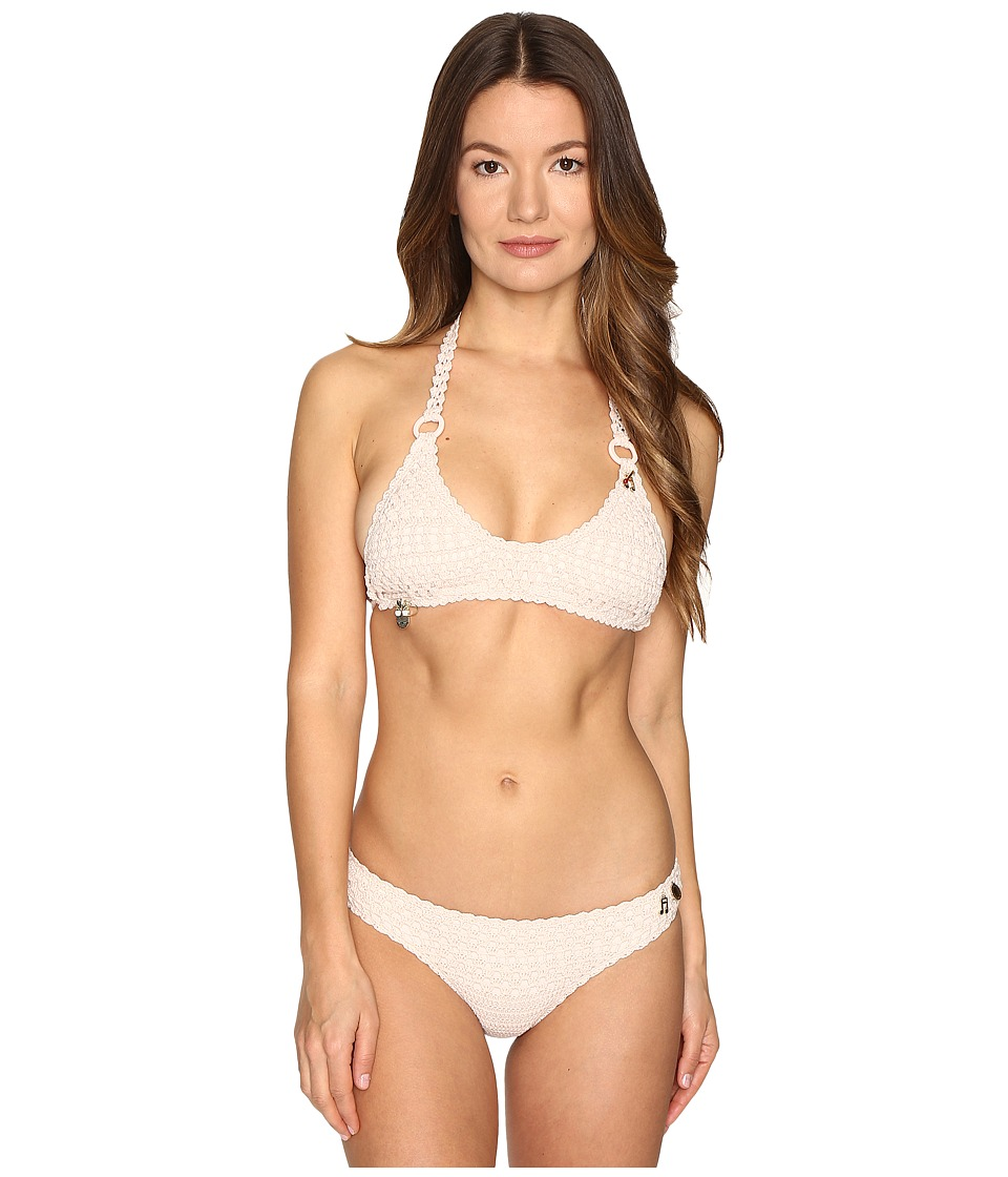 Stella McCartney - Crochet Bikini Set (Light Pink) Women's Swimwear Sets