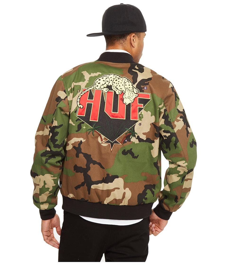 HUF - Kingston Jacket (Woodland) Men's Coat