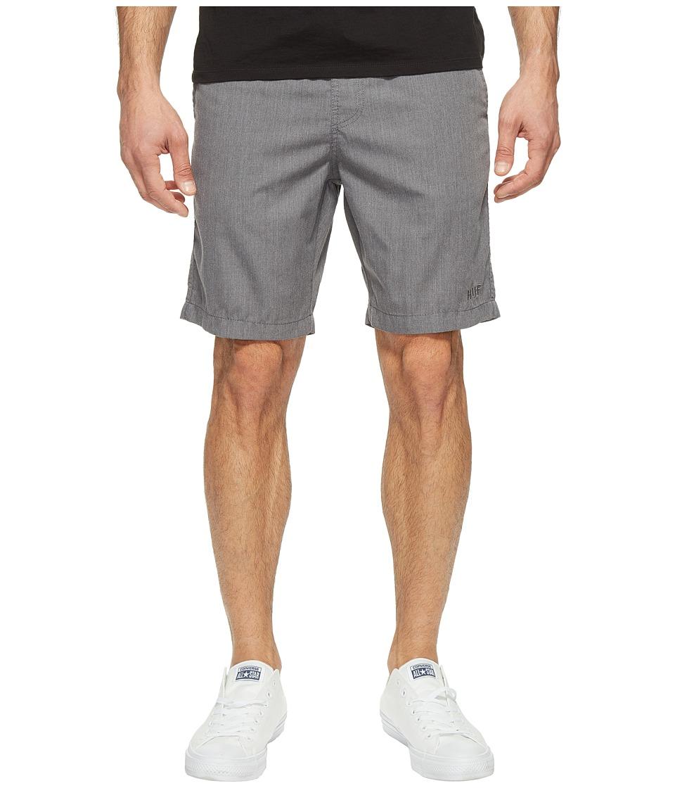 HUF - Sun Daze Easy Shorts (Grey Heather) Men's Shorts