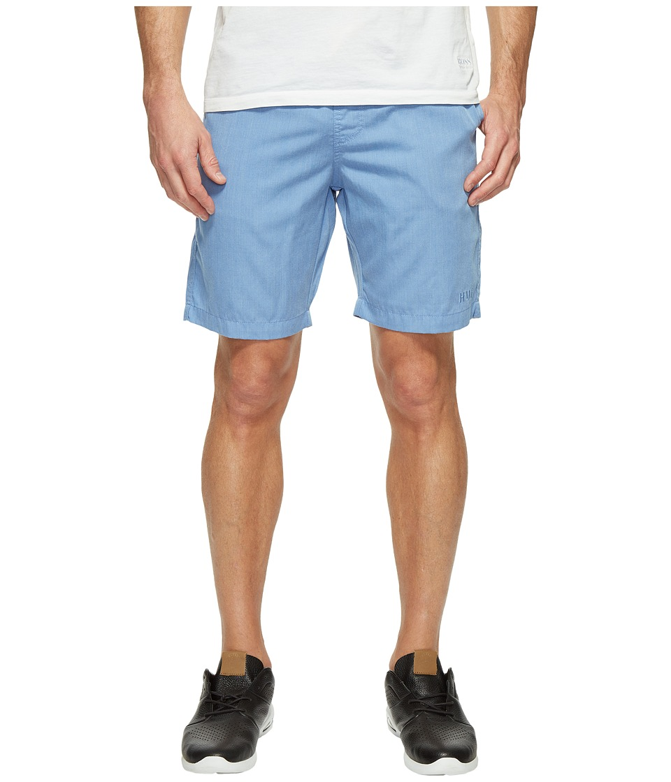 HUF - Sun Daze Easy Shorts (Light Blue Heather) Men's Shorts