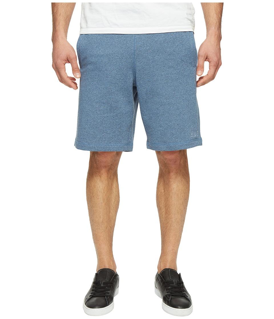 HUF - Shadow Fleece Shorts (Navy Heather) Men's Shorts