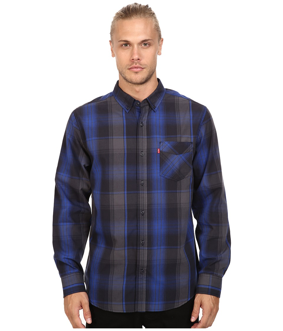 Levi's(r) - Caesar Poplin Long Sleeve Woven Shirt (Night Sky) Men's Long Sleeve Button Up