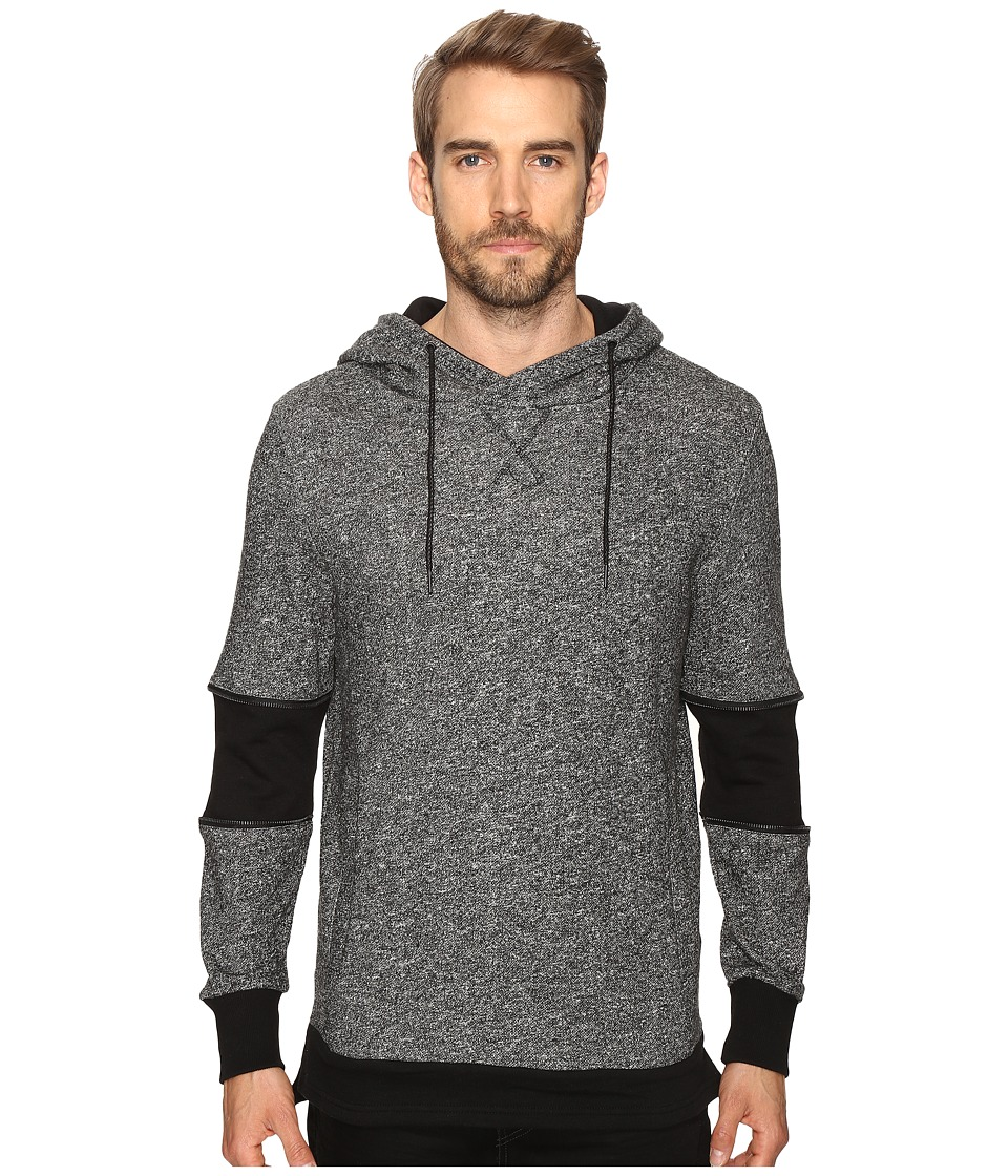 nANA jUDY - The Pace (Black / White Texture) Men's Sweatshirt