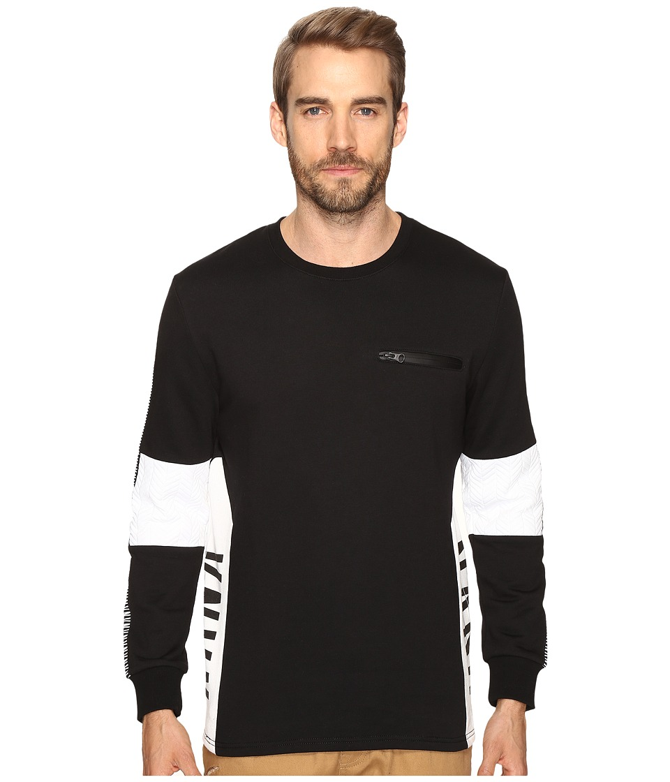 nANA jUDY - The Charger (Black/White) Men's Sweater