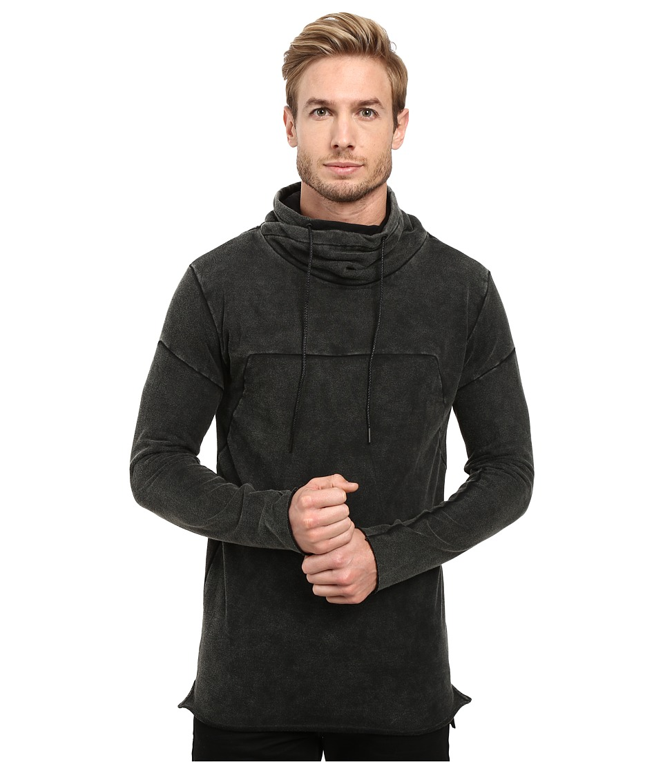 nANA jUDY - The Pisa Longline (Dirty Black) Men's Sweater
