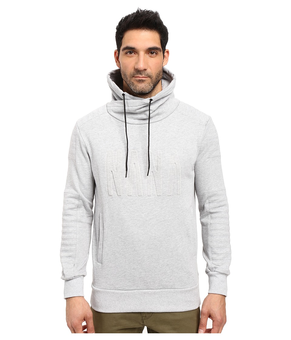 nANA jUDY - The Pisa - Nana Emboss (Grey Marl) Men's Sweater