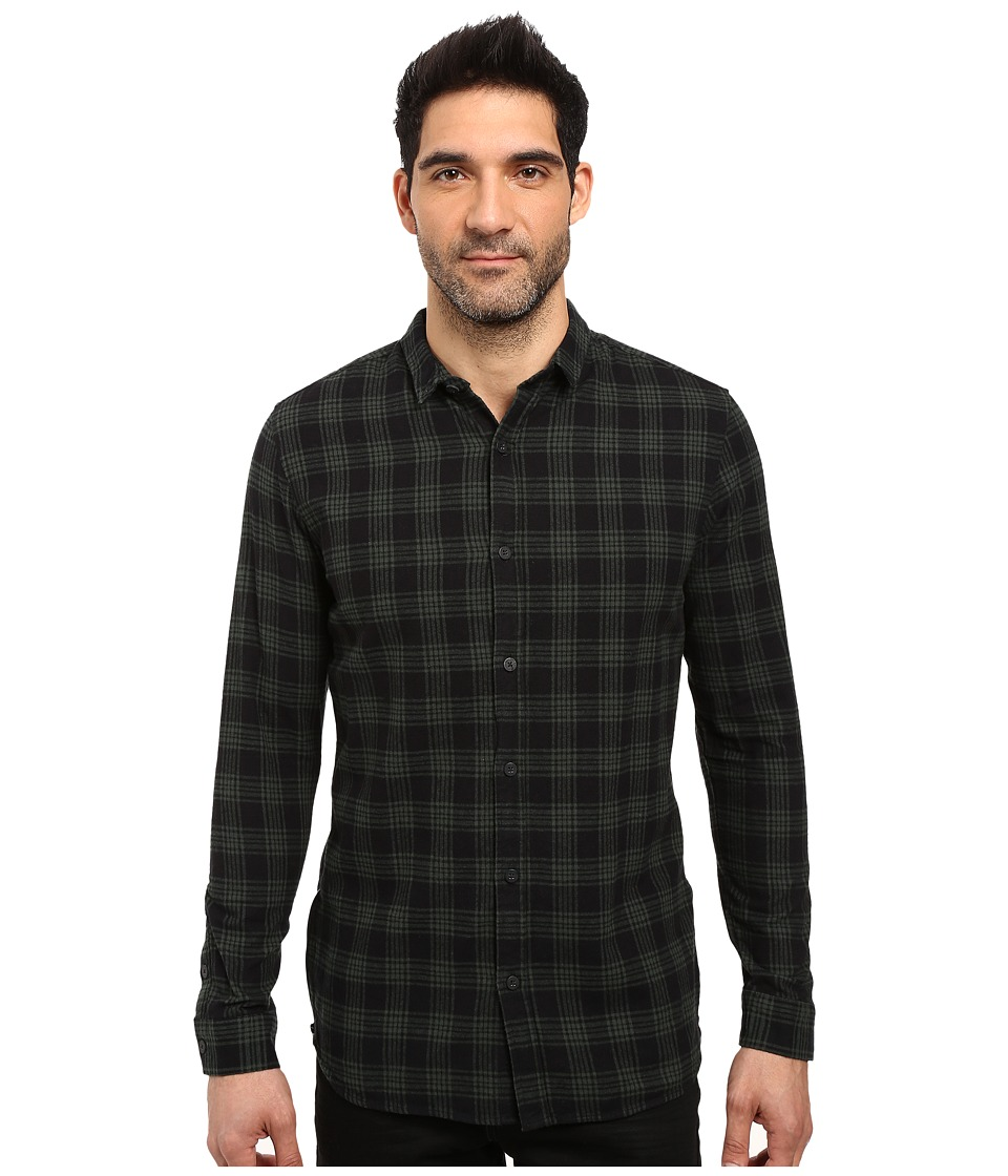 nANA jUDY - The Central (Green/Plaid Black) Men's Clothing