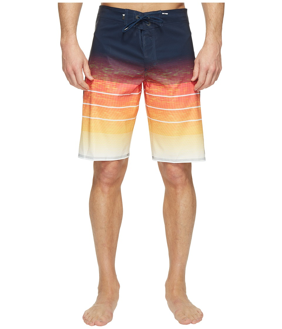 Quiksilver - Slab Momentum Vee 21 Boardshorts (Chili Pepper) Men's Swimwear