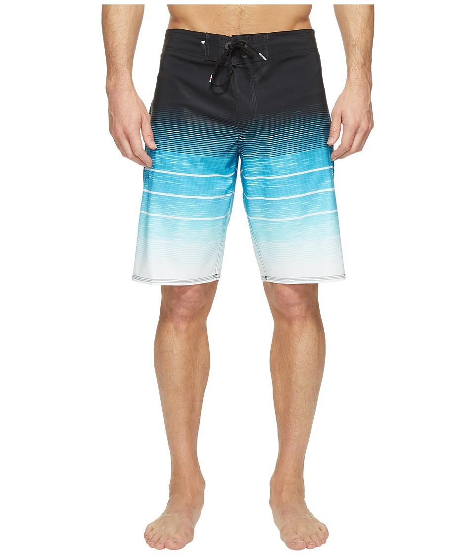 Quiksilver - Slab Momentum Vee 21 Boardshorts (Blue Danube) Men's Swimwear