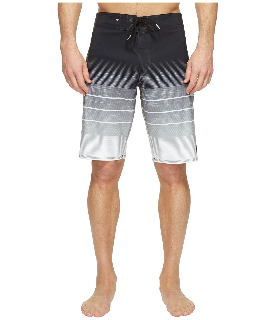 Quiksilver - Slab Momentum Vee 21 Boardshorts (Black) Men's Swimwear