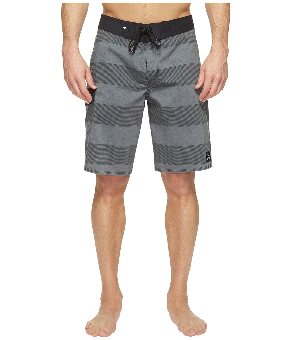 Quiksilver - Everyday Brigg Vee 20 Boardshorts (Black) Men's Swimwear