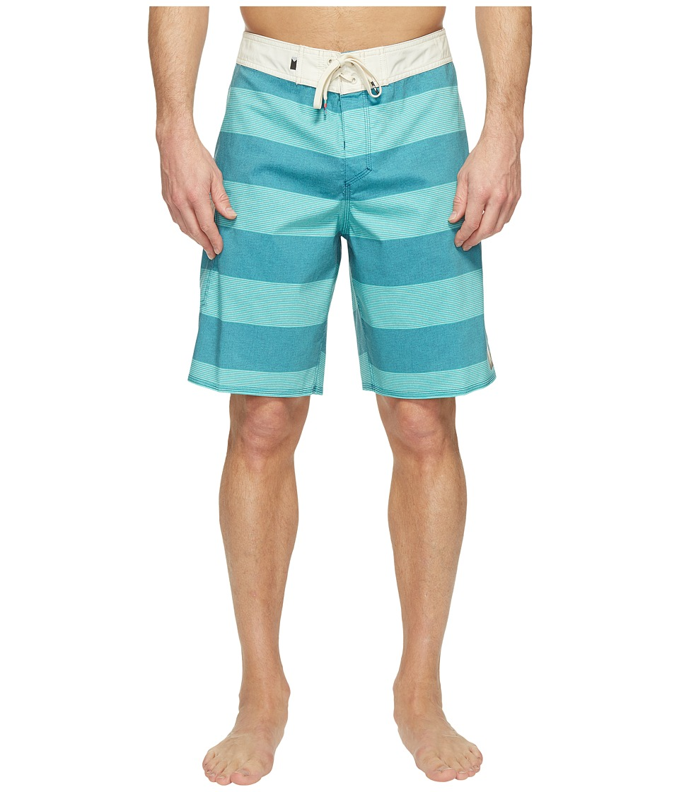 Quiksilver - Everyday Brigg Vee 20 Boardshorts (Moroccan Blue) Men's Swimwear