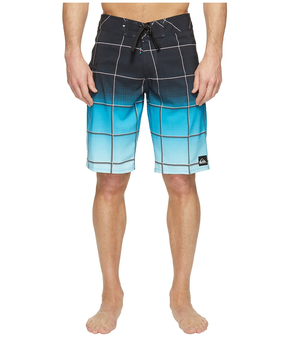Quiksilver - Everyday Electric Stretch Vee 21 Boardshorts (Black) Men's Swimwear