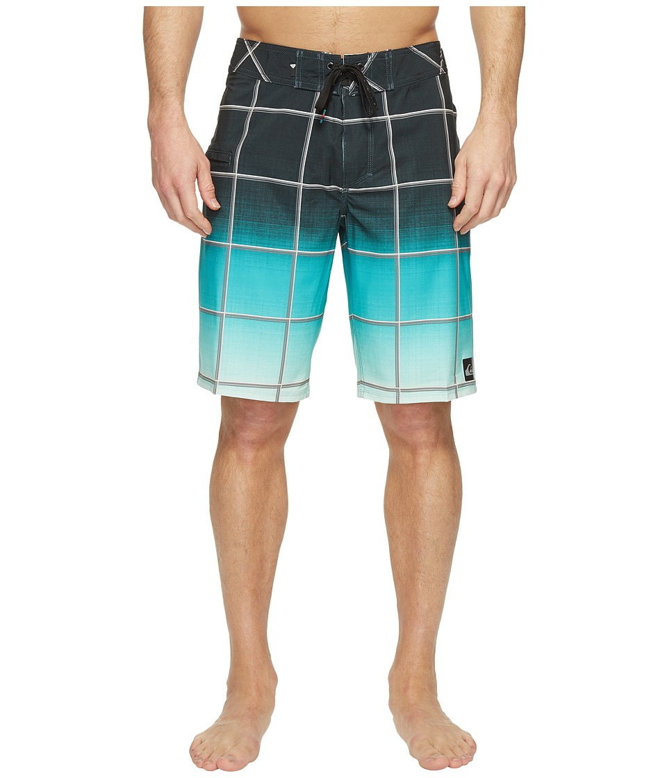 Quiksilver - Everyday Electric Stretch Vee 21 Boardshorts (Four Leaf) Men's Swimwear