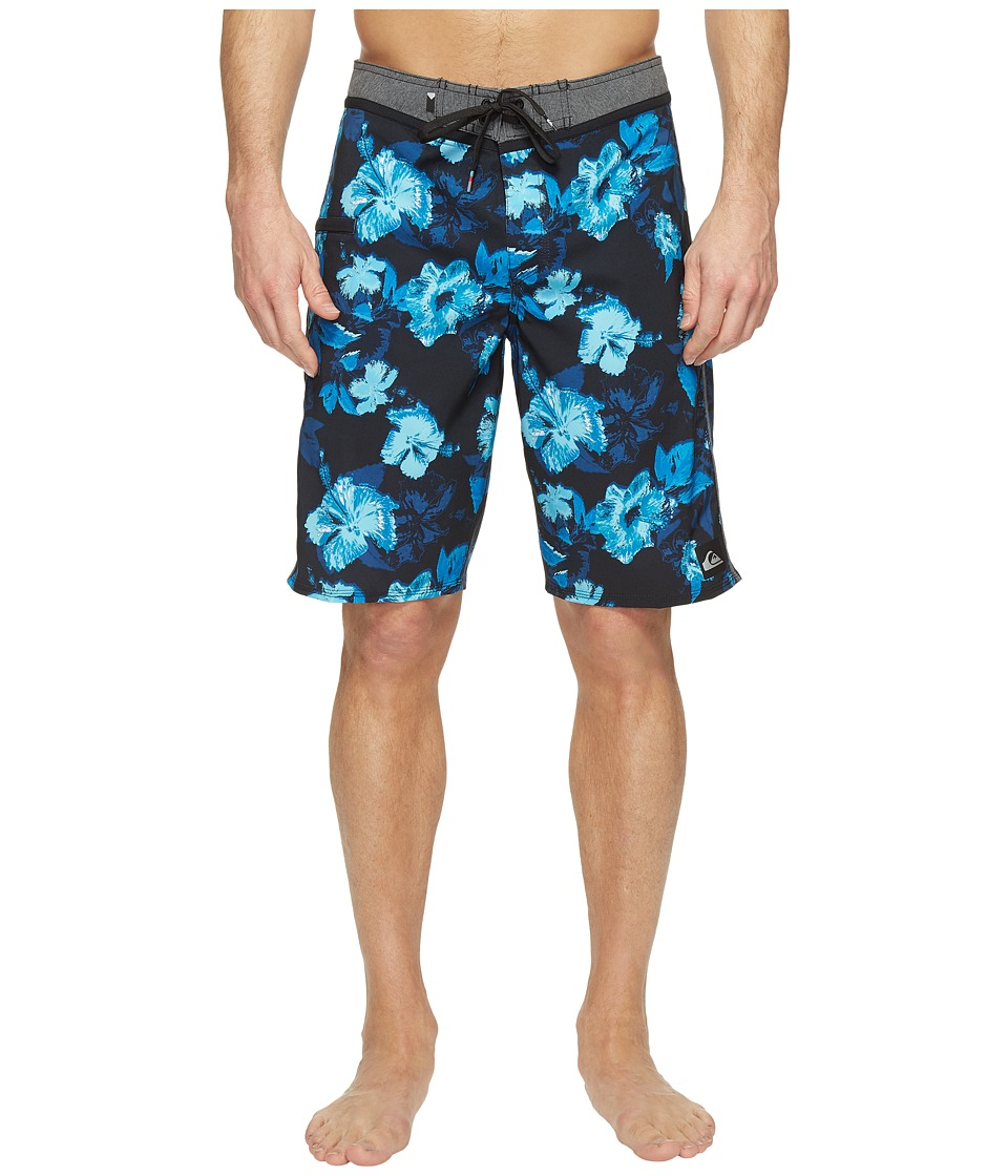 Quiksilver Jungle Fever Vee 21 Boardshorts (Blue Danube) Men
