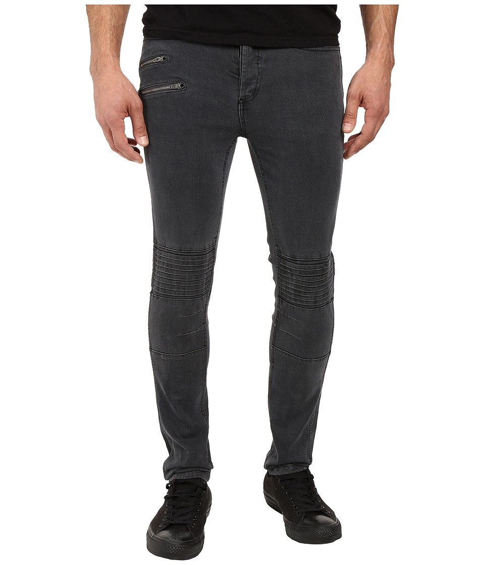 nANA jUDY - Moto Signature Denim in Vintage Black (Vintage Black) Men's Jeans