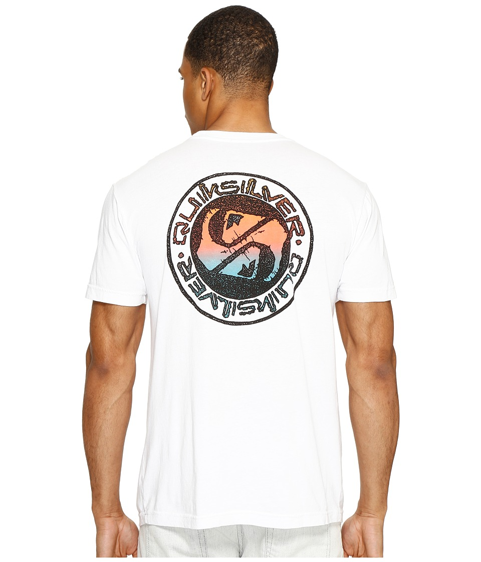 Quiksilver - Balanced 69 Tee (White) Men's T Shirt