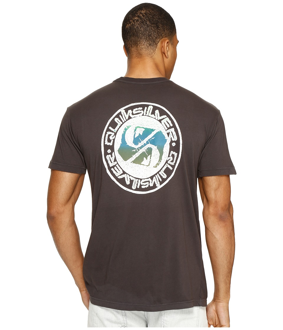 Quiksilver - Balanced 69 Tee (Tarmac) Men's T Shirt