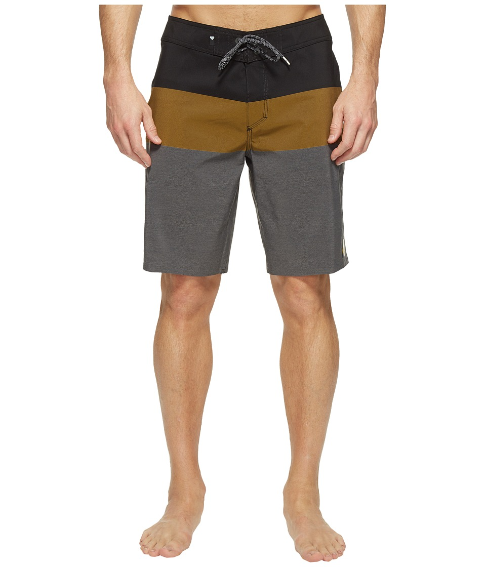 Quiksilver - Highline Blocked Vee 20 Boardshorts (Black) Men's Swimwear
