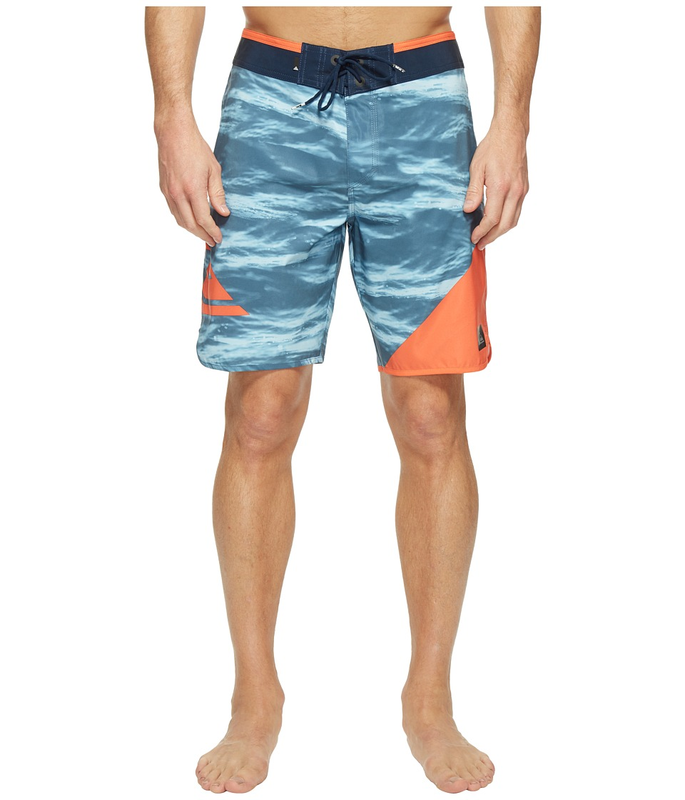 Quiksilver - New Wave 19 Boardshorts (Navy Blazer) Men's Swimwear