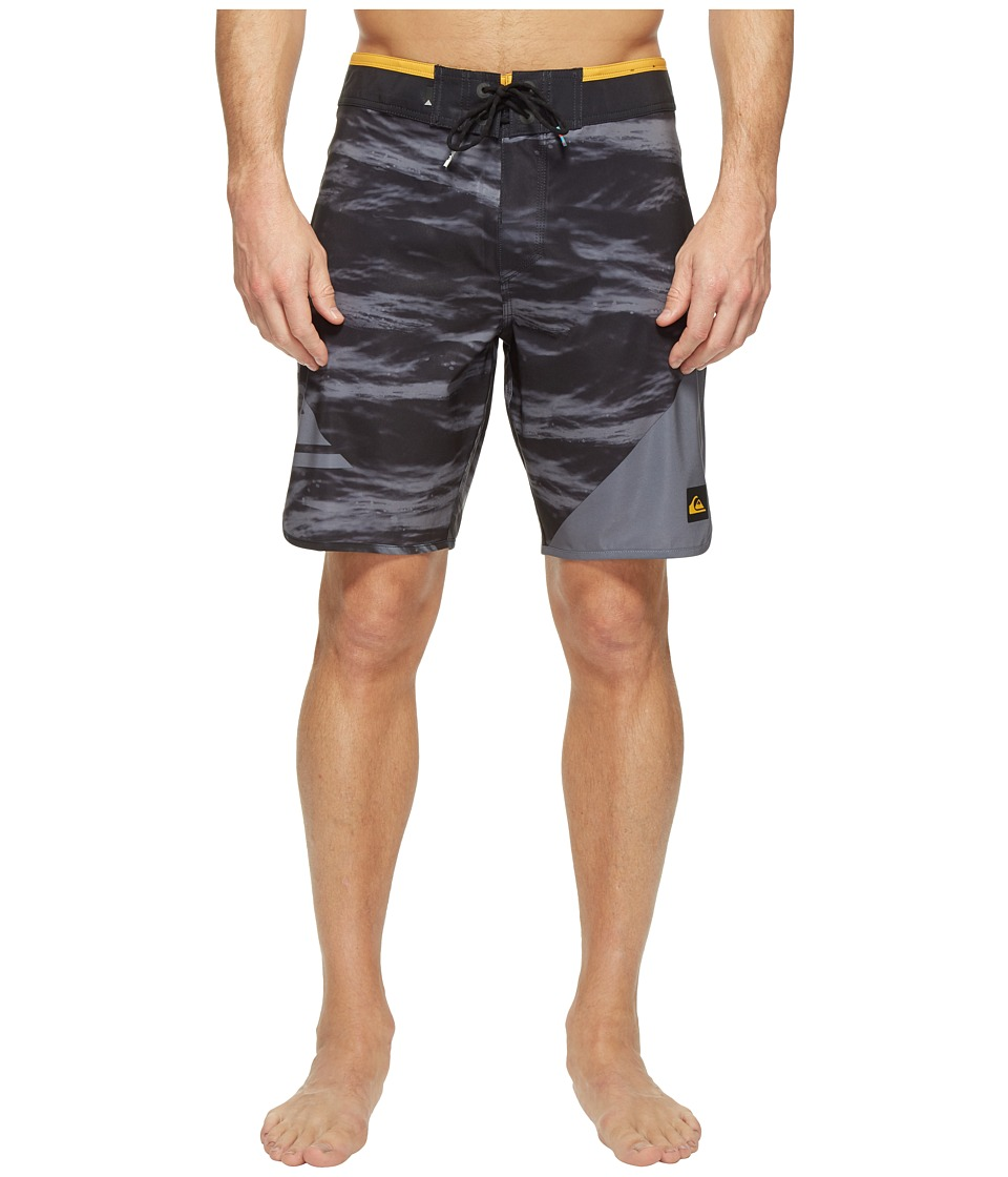 Quiksilver - New Wave 19 Boardshorts (Black) Men's Swimwear