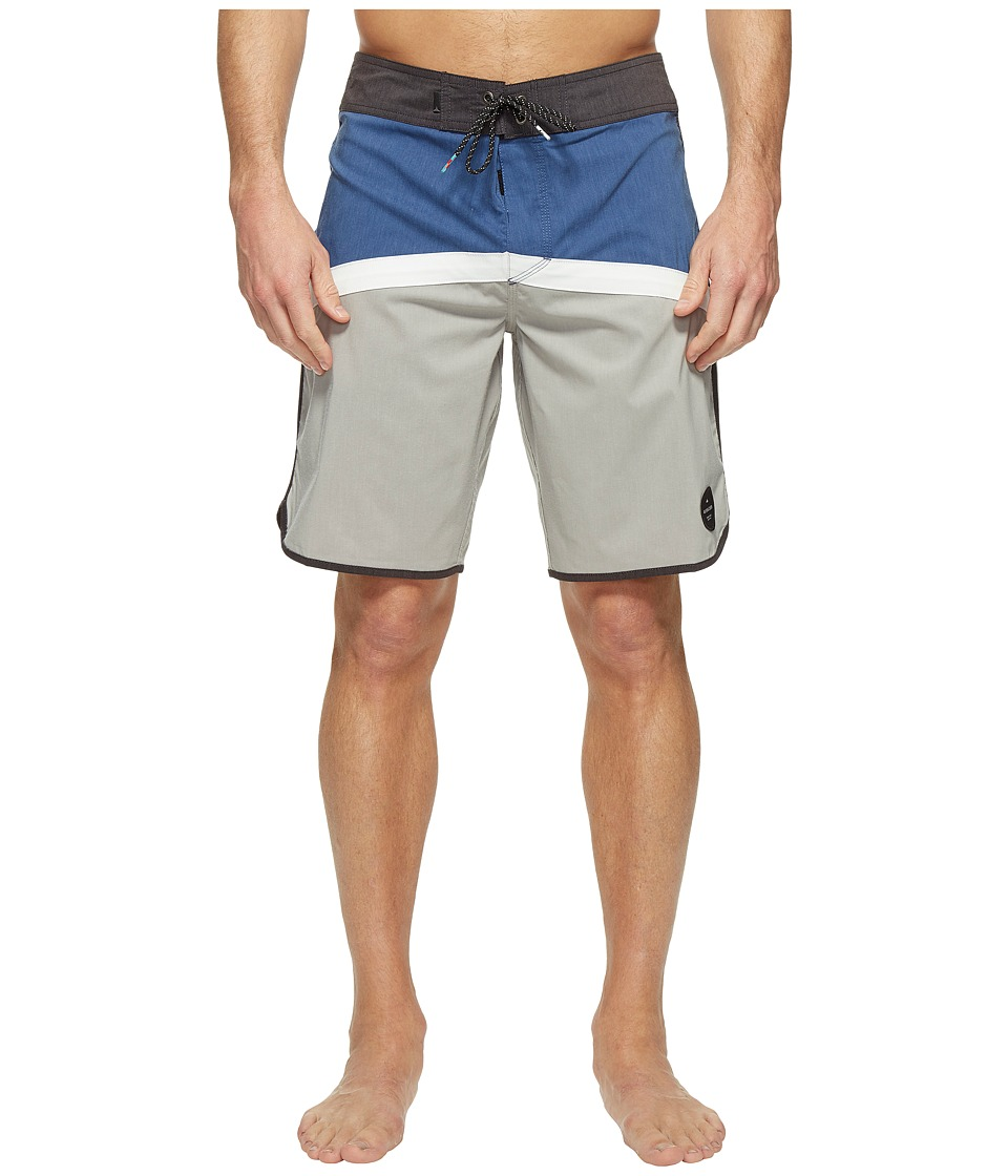 Quiksilver Crypto Scallop 20 Boardshorts (Estate Blue) Men