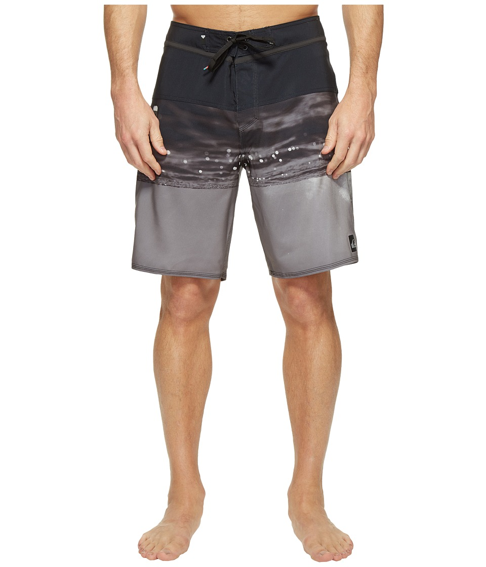 Quiksilver - Hold Down Vee 19 Boardshorts (Black) Men's Swimwear