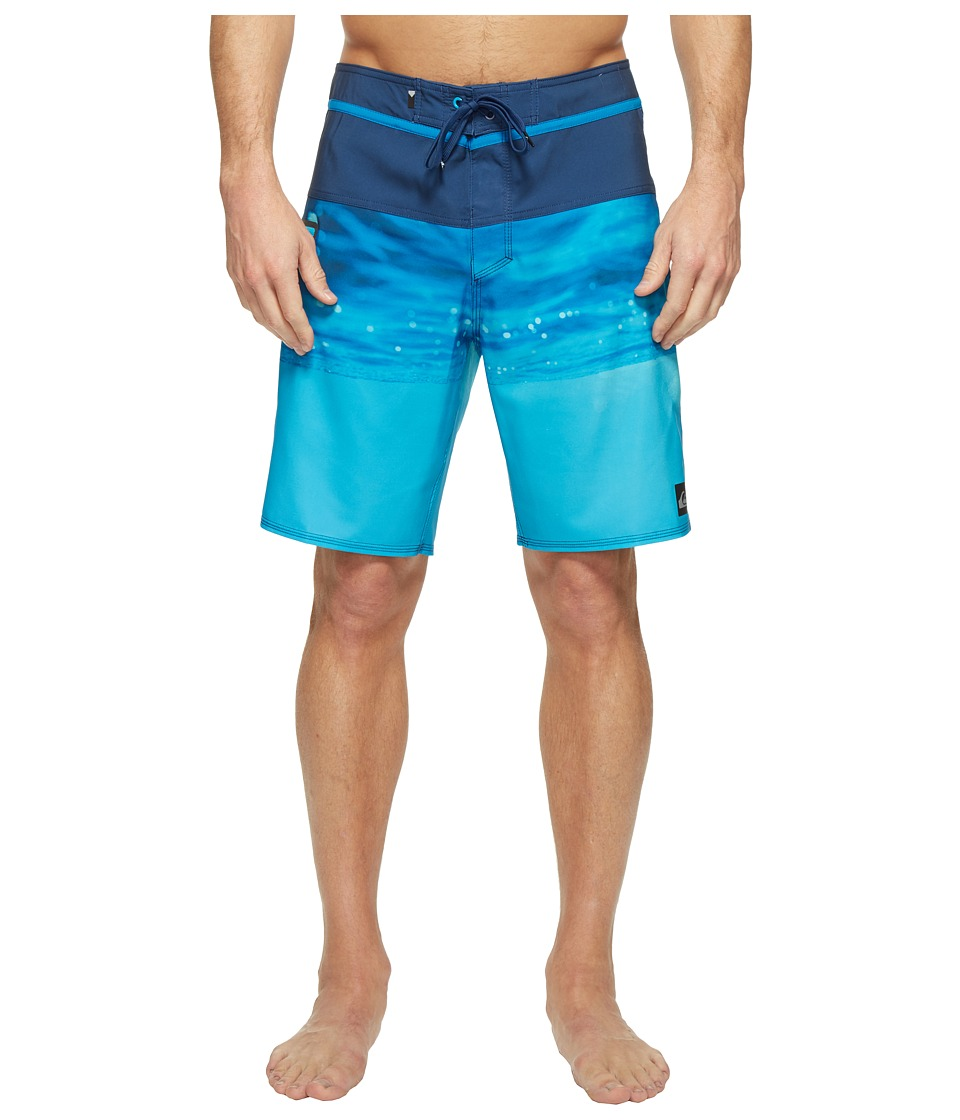 Quiksilver - Hold Down Vee 19 Boardshorts (Estate Blue) Men's Swimwear
