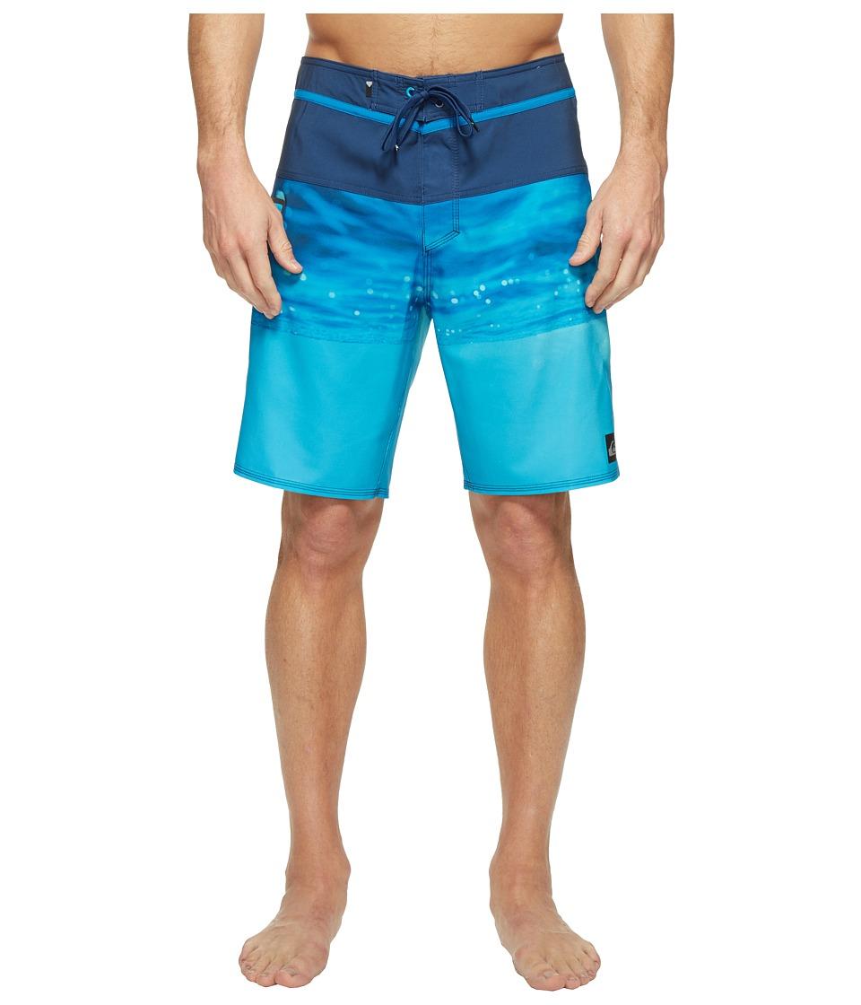 Quiksilver - Hold Down Vee 19 Boardshorts (Estate Blue) Men's Swimwear