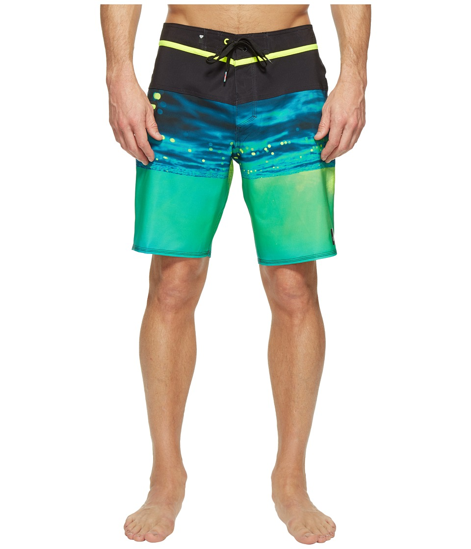 Quiksilver - Hold Down Vee 19 Boardshorts (Safety Yellow) Men's Swimwear