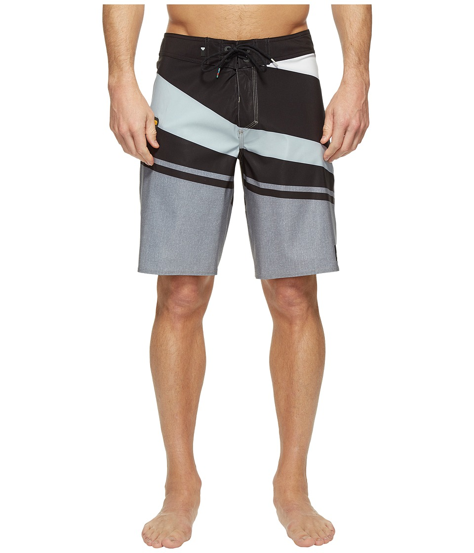 Quiksilver - Slash Vee 20 Boardshorts (Tarmac) Men's Swimwear