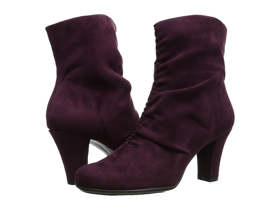 A2 by Aerosoles - Good Role (Wine Fabric) Women's Boots