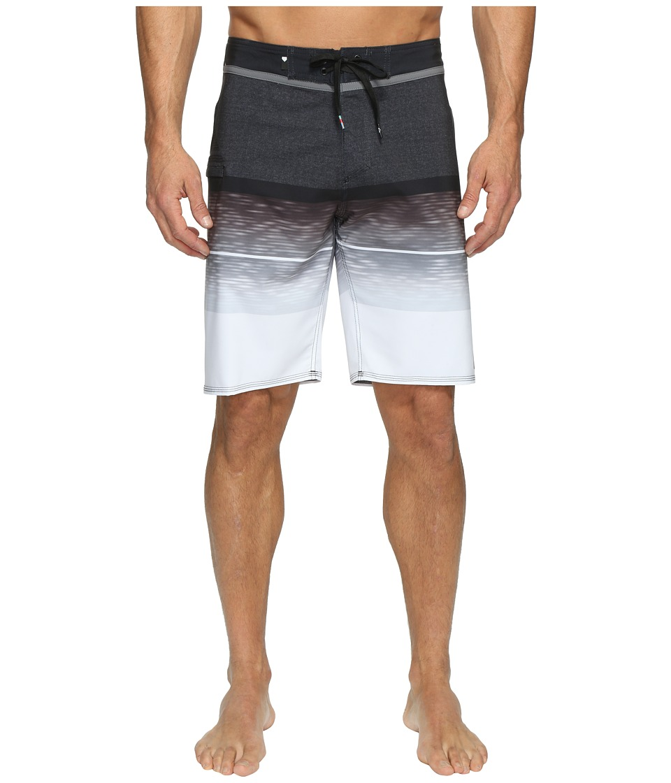 Quiksilver - Slab Logo Vee 20 Boardshorts (Black) Men's Swimwear