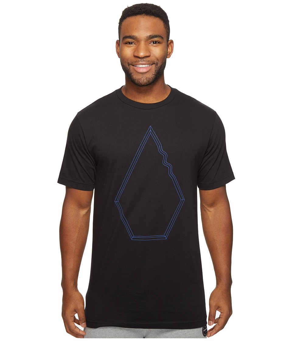 Volcom - Drew Short Sleeve T-Shirt (Black) Men's T Shirt