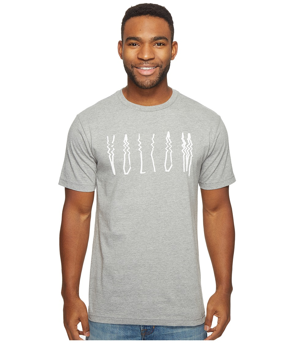 Volcom - Smear T-Shirt (Heather Grey) Men's T Shirt