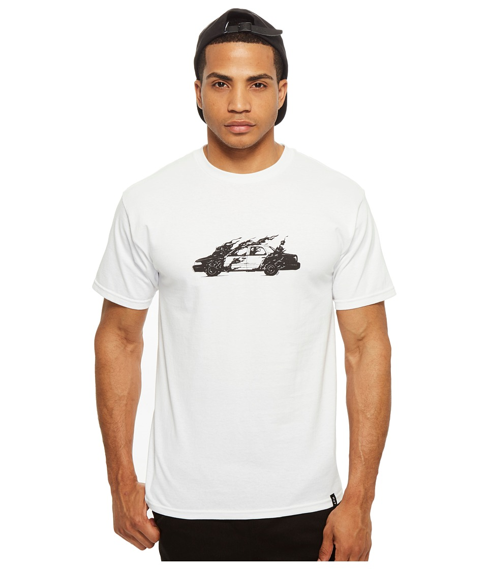 HUF - Cop Car Tee (White) Men's T Shirt