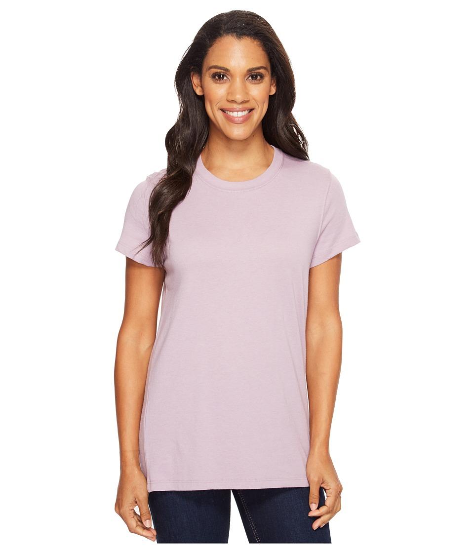 Carhartt - Lockhart Short Sleeve Crewneck T-Shirt (Amethyst Heather) Women's T Shirt
