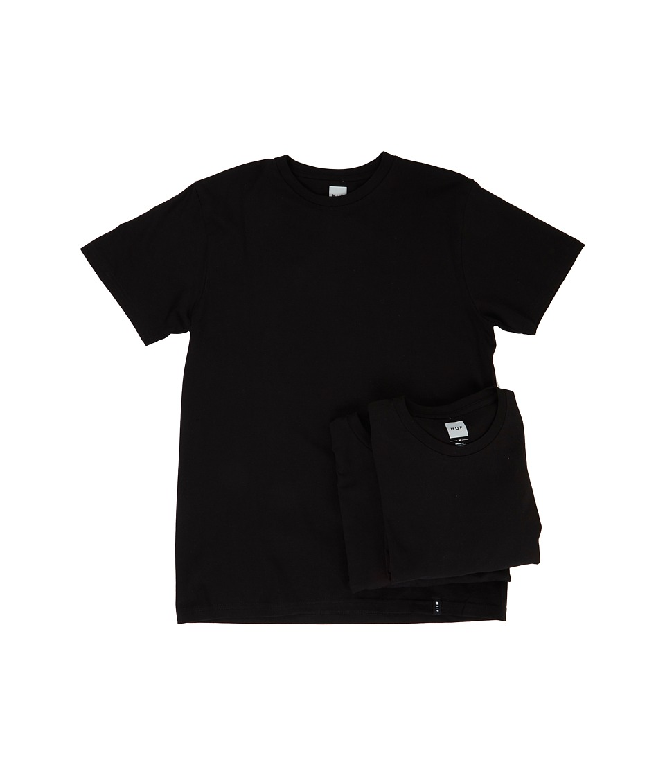 HUF - 3-Pack Tee (Black) Men's T Shirt