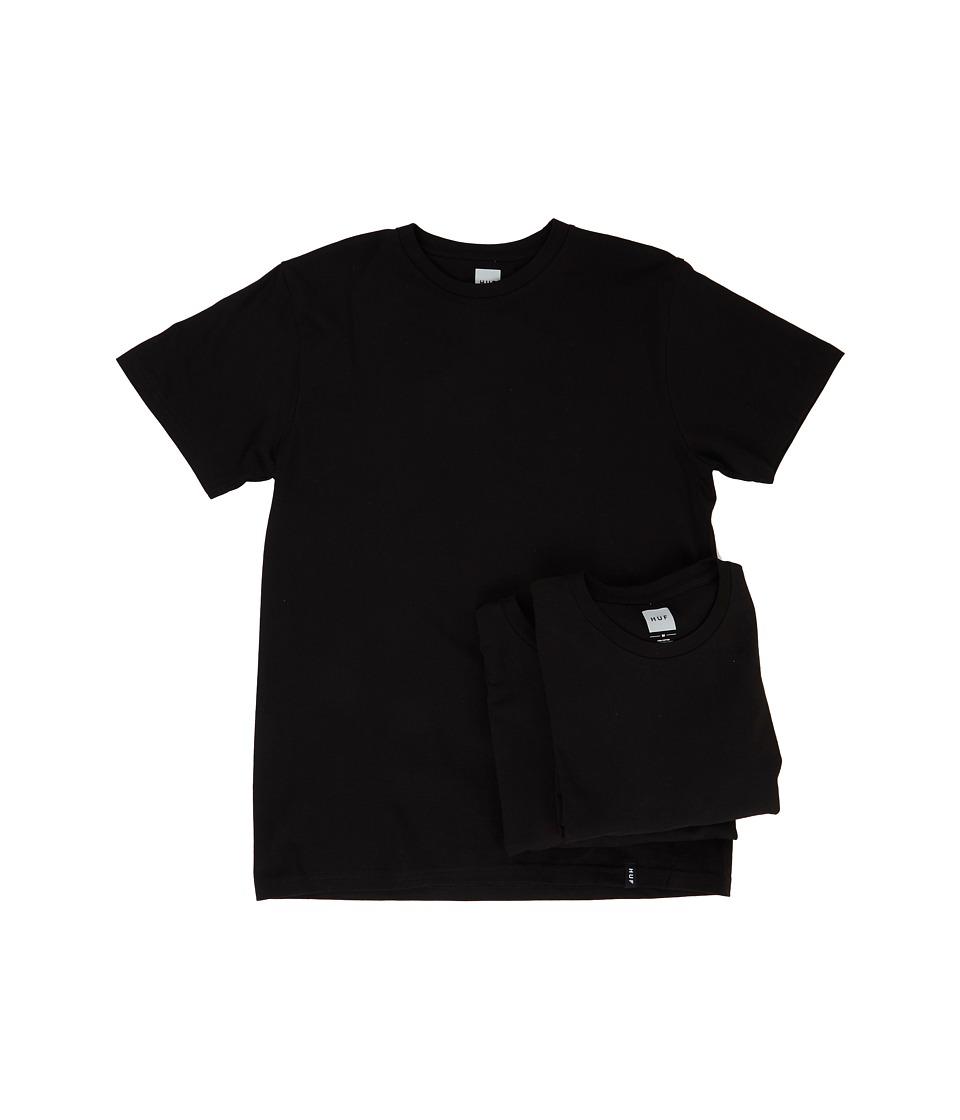 HUF - 3-Pack Tee (Black) Men's T Shirt