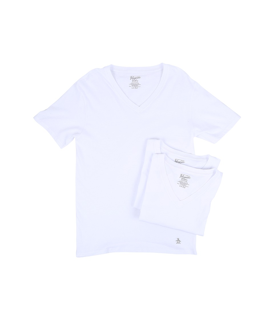 HUF - 3-Pack Tee (White) Men's T Shirt